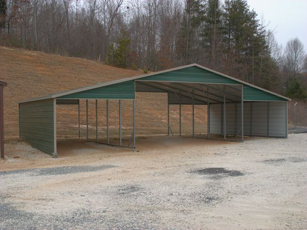 Barn Carports  - Carolina Carports Gallery