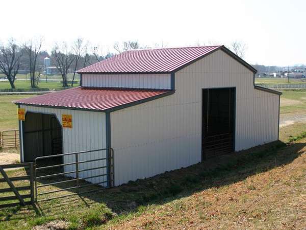 Barn Carports #3  - Carolina Carports Gallery