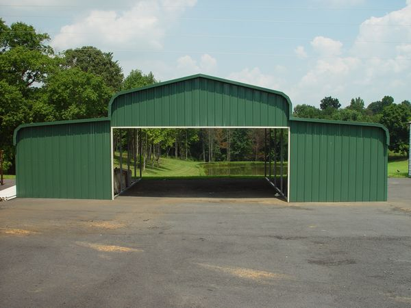 Barn Carports #4  - Carolina Carports Gallery