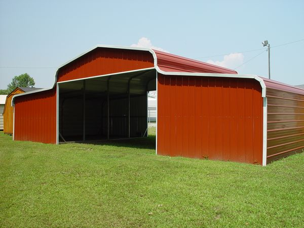 Barn Carports #5  - Carolina Carports Gallery