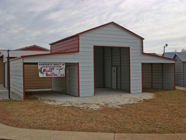 Barn Carports #6 - Carolina Carports Gallery