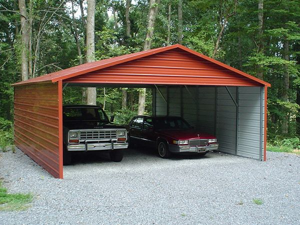 Boxed Eve Carports #3  - Carolina Carports Gallery