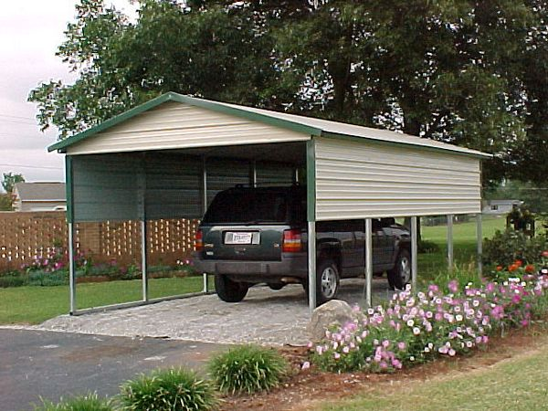 Boxed Eve Carports #4  - Carolina Carports Gallery