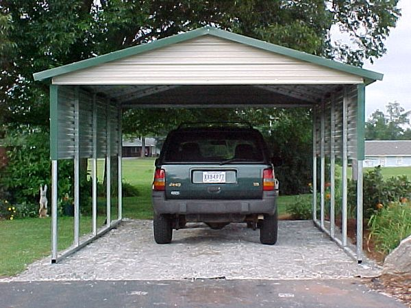 Boxed Eve Carports #5  - Carolina Carports Gallery