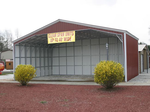 Custom Carports #9 - Carolina Carports Gallery