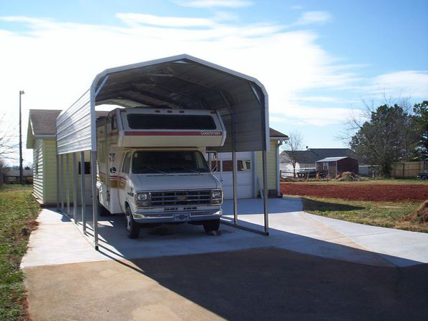 RV Cover Carports #2  - Carolina Carports Gallery
