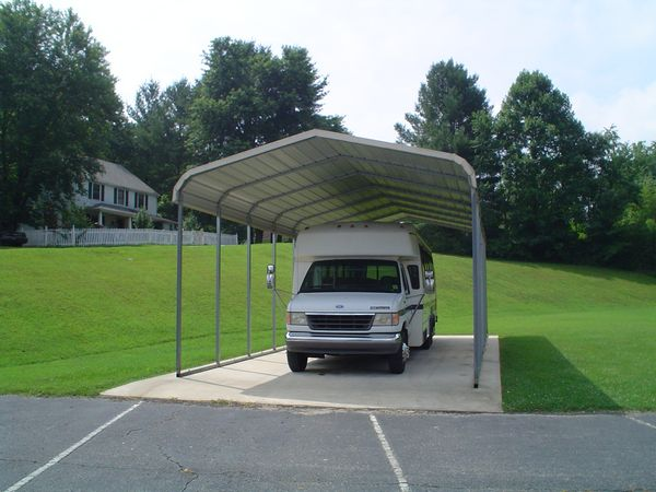 RV Cover Carports #3  - Carolina Carports Gallery