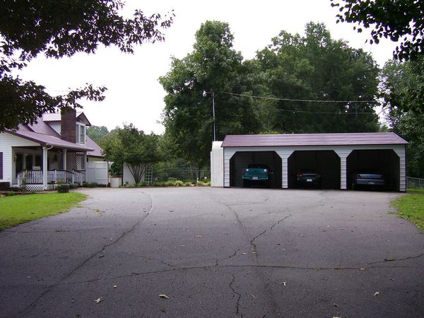 Carport with Side Entry  - Carolina Carports Gallery