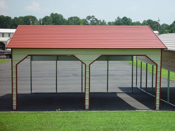 Side entry Carport #3  - Carolina Carports Gallery