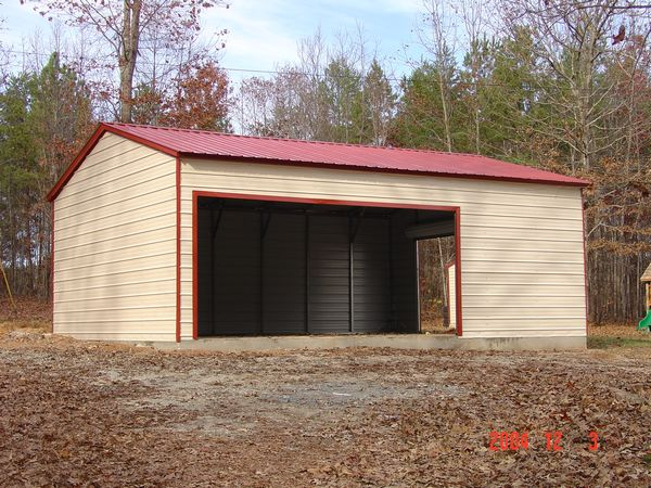 Carport with side entry #6 - Carolina Carports Gallery