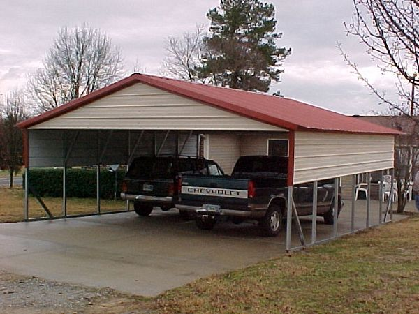 Vertical Roof Carports  - Carolina Carports Gallery