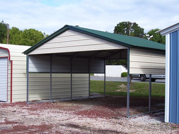 Vertical Roof Carports #4  - Carolina Carports Gallery